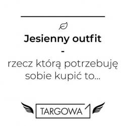 Aktualna, deszowa pogoda potęguje myśli o tym, że to już może być koniec lata ...🌧 Pomyślmy jednak o czymś przyjemniejszym - piękna złota jesień już niebawem! 🍂  Jakiej części garderoby brakuje Wam, aby dopełnić outfit w tym roku? 🍁  Jesteśmy bardzo ciekawi Waszych odpowiedzi ❤ .  #targowa1 #odziezmarkowa #promocje #fashion #fashionlovers #moda #markipremium #odziezdamska #odziezmeska #hit #zakupyonline #shoppingonline #shopping